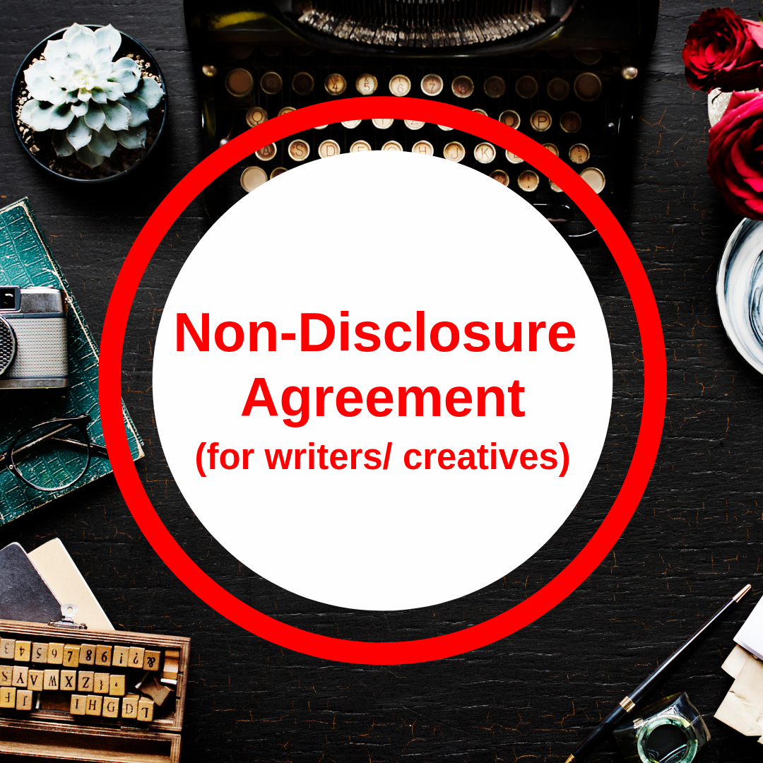 Non Disclosure Agreement For Writers Creatives